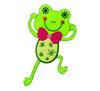 Applikationen - Patches - zum Aufbügeln - Frosch