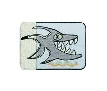 Applikationen - Patches - zum Aufbügeln - Hai / Reflex Sticker