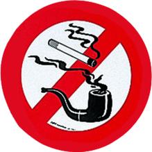 Verbotsschild ″Rauchen″