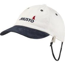 MUSTO Crew Cap/ antikweiß-navy