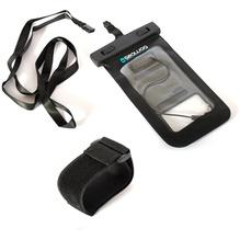 Seawag-Case für Smartphone + Kopfhöreranschluss schwarz