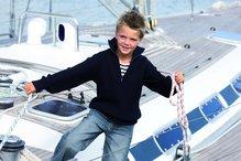 OCEAN ONE Kinder Troyer-Pullover /marine