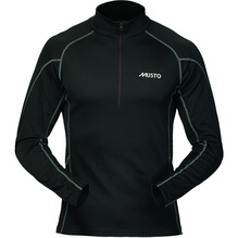 MUSTO Thermal B.L Zip-Neck/sch