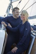 OCEAN PRO+ Langarmshirt Herren /navy