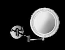 LED Wandkosmetikspiegel, 5-fache Vergrößerung