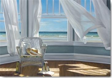 Karen Hollingsworth, Gentle Reader - Leinwandkomplettbild