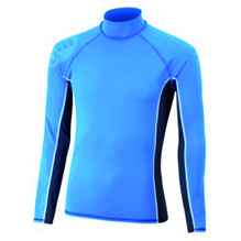 GILL Kids Langarm UV-Shirt Gr.140/146 - blau