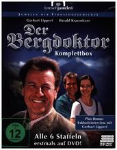 Der Bergdoktor - Komplettbox, 28 DVD