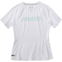 MUSTO Da.Evol. UV-Shirt/ weiß
