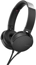 MDR-XB550AP On-Ear-Kopfhörer mit Kabel schwarz