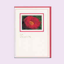 Geburtstagskarte La Rosa