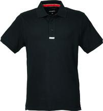 MUSTO Herren Piqué Poloshirt /schwarz