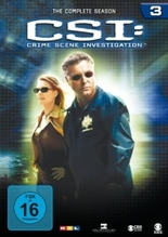 CSI. Season.3, 6 DVDs