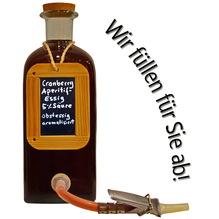 Cranberry aperitif essig obstessig aromatisiert amphore1