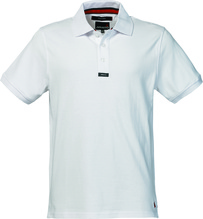 MUSTO Herren Piqué Poloshirt /weiß
