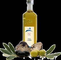 Weißes Trüffelöl Olio extra vergine d'oliva al tartufo bianconatives Olivenöl extra mit Aroma