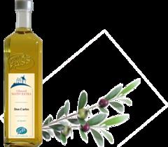 Don Carlos - natives Olivenöl extra BIO (Spanien) Aceite de oliva virgen extra, natives Olivenöl extra, ökologisch angebaut und hergestellt in Spanien, erste Güteklasse, direkt aus Oliven ausschließlich mit mechanischen Verfahren gewonnen