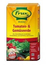 Tomaten- & Gemüseerde, BIO, Frux, 40 Liter