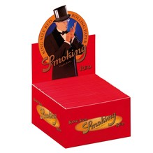 SMOKING RED KING SIZE PAPERS, 50ER BOX
