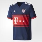 Kinder Adidas FC Bayern München Away 17/18 navy/red