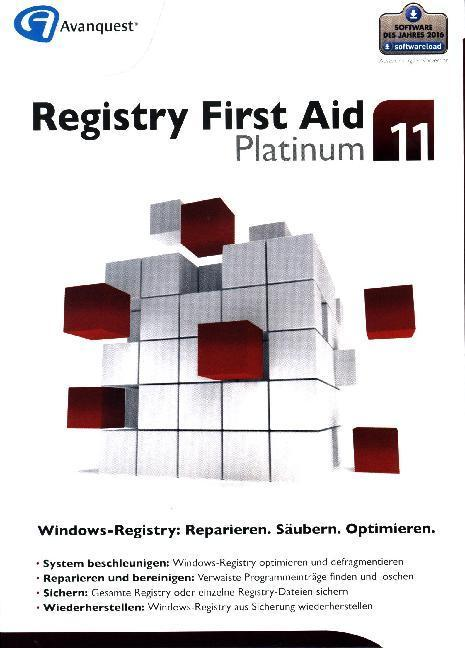Registry First Aid 11 Platinum, 1 DVD-ROM