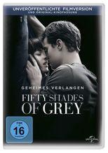 Fifty Shades of Grey - Geheimes Verlangen, 1 DVD   James, E L