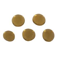 Glas-Nuggets ca. ø1,5cm, (ca.39Stück), SB-Box 125g, honiggelb