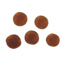 Glas-Nuggets ca. ø1,5cm, (ca.39Stück), SB-Box 125g, d.orange