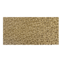 Wachsfolie-Kreise, 20x10cm, SB-Btl 1Stück, gold glänzend