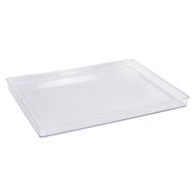 Wachslichtform Rechteck, 22x16x1,3cm, transparent, 1Stück
