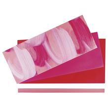 Set: Verzierwachs Kommunion, farblich sortiert, SB-Btl 1Set, pink-Töne