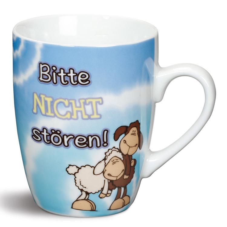 """Nici Porzellan-Tasse """"Bitte nicht stören!"""""""