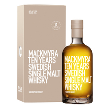 Whisky, 10 yo, Single Malt, 0,7 L, 40%-vol - Mackmyra