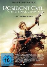 Resident Evil: The Final Chapter, 1 DVD
