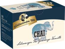 Goldmännchen Tee Chai Schwarzer Tee Gewürze Vanille