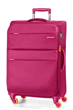 March15 Trolley Elle Stoffkoffer -S-M-L- 55cm 65cm 75cm Navy, Black, Fuchsia / NeonOrange