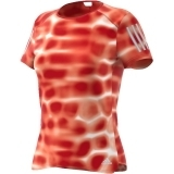 Adidas Damen T-Shirt Response Q1 Graphic Fb. orange