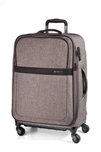 March15 Trolley Rugby Stoffkoffer Hybrid  -S-M-L- 55cm 65cm 75cm Safari Grey, Black