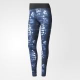 Adidas Damen Long Tight 'Ultimate' Fb. blau/print