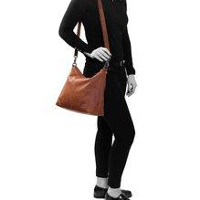 The Chesterfield Brand - Victoria  Damen Ledertasche  in verschiedene Farben -- Navy, Black, Cognac, Taupe, Brown