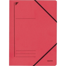 Leitz Eckspanner 39800025 DIN A4 250Blatt Colorspankarton rot
