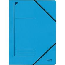 Leitz Eckspanner 39800035 DIN A4 250Blatt Colorspankarton blau