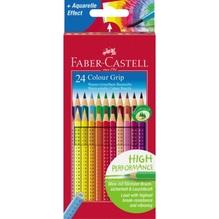 Faber-Castell Farbstift Colour GRIP 112424 farbig sortiert 24 St./Pack.