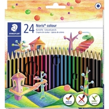 STAEDTLER Farbstift Noris colour 185C24 f. sortiert 24 St./Pack
