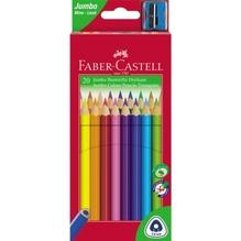 Faber-Castell Farbstift Triangular Jumbo 116520 sortiert 20 St./Pack.