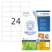 HERMA Etikett 10824 RC 70x37mm matt ws 2.400 St./Pack.