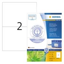 HERMA Etikett 10832 RC 210x148mm matt ws 200 St./Pack.