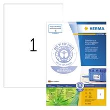HERMA Etikett 10833 RC 210x297mm matt ws 100 St./Pack.