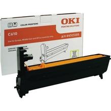 OKI Trommel 44315105 für OKI C610 20.000S. gelb