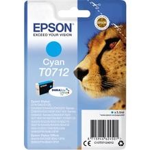 Epson Tintenpatrone C13T07124012 250Seiten 5,5ml cyan